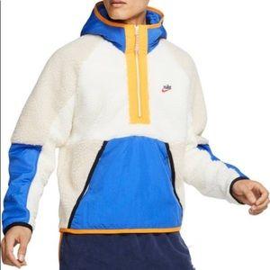 Nike fleece sports hoodie